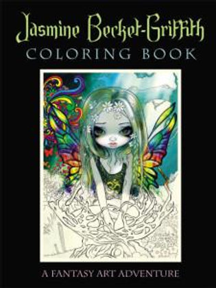 colouring book - jasmine becket-griffith