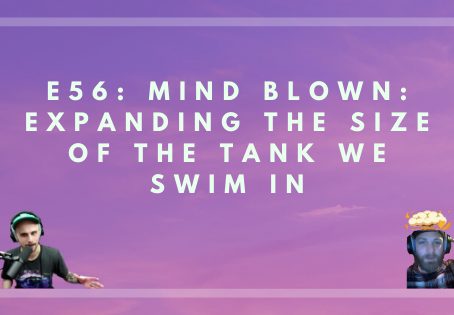E56: Mind Blown: Expanding The Size Of The Tank We Swim In W/ Ryan & Dave