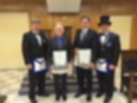2016 Warwick Lodge Service Awards
