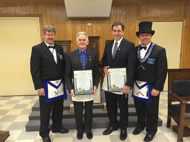2016 Warwick Lodge Service Awards