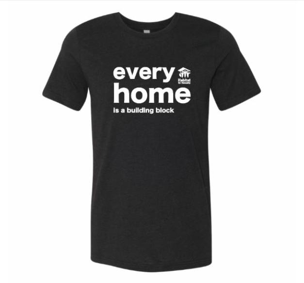Black Every Home Tee