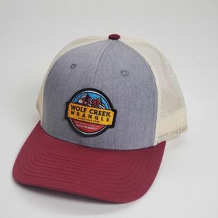 Heather Gray/ Cardinal Trucker Hat
