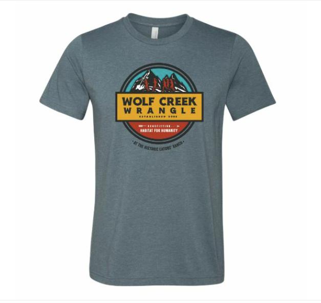 Slate Wolf Creek Wrangle Tee