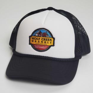 Black Trucker Style Hat