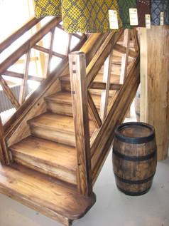 Vecinātas oša kāpnes