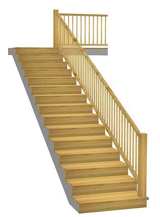 Taisnas kāpnes