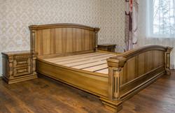 Oša koka gulta vecināta