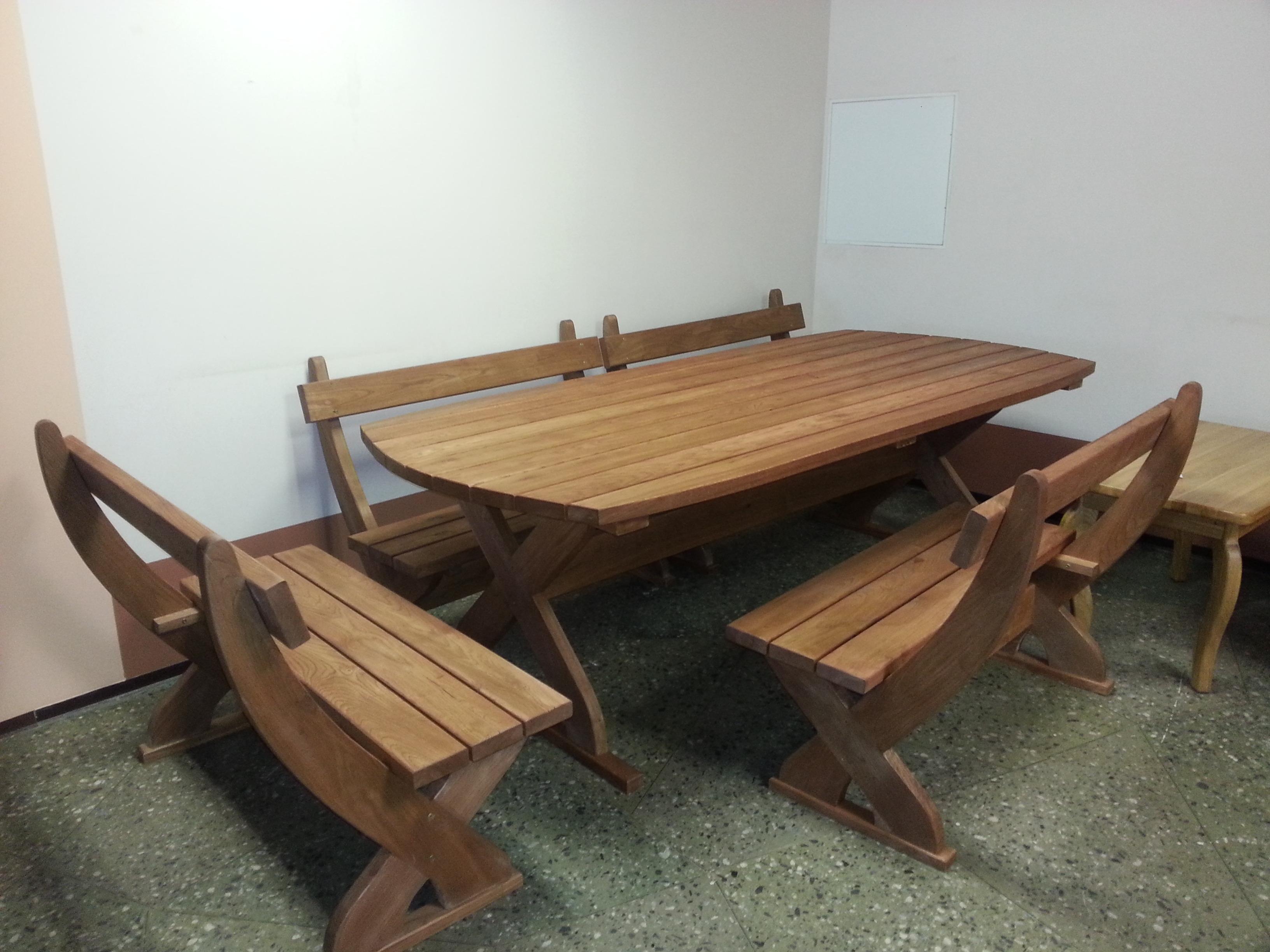 Ozola āra galda komplekts