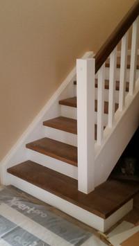 Oša kāpnes skandināvu stilā