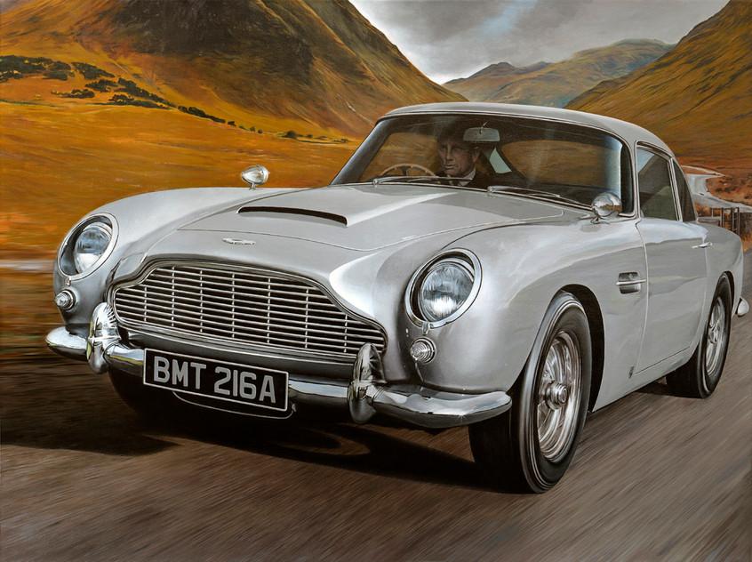 Jame Bond Aston Martin DB5