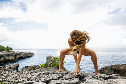 Female Yoga Photography in Indonesia