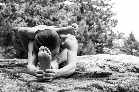 Female Yoga Photography in Colorado