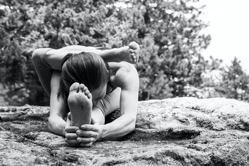 Female Yoga Photography in Colorado