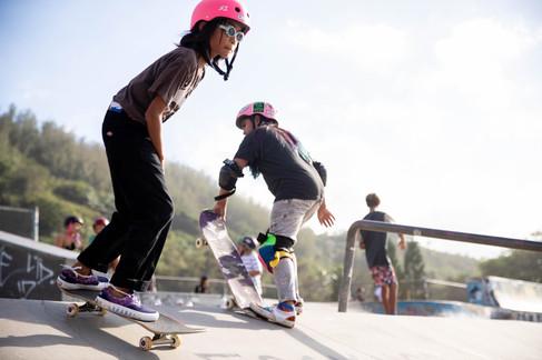Bonsai Skate park, Oahu