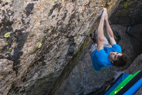 Michael O'Rourke Climbing in Colorado