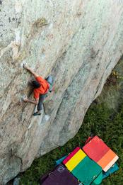 Paul Robinson Climbing in Wyoming