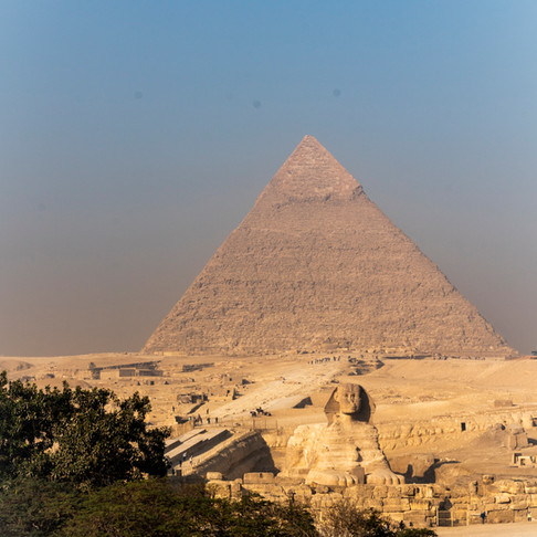Next stop: Giza, Egypt