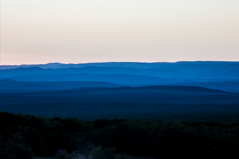 Sunset in Addo Elephant Park, South Africa