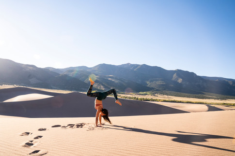 Self Portrait in Great Sand Dunes National park