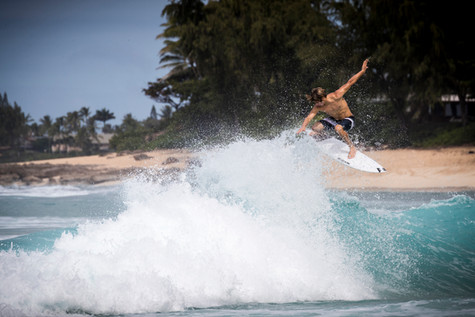Jack Robinson at Pipeline, North Shore of Oahu