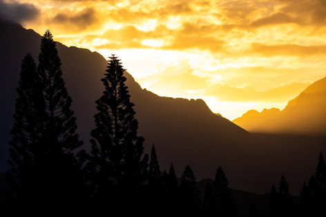 Sunset View from Lanikai, Oahu