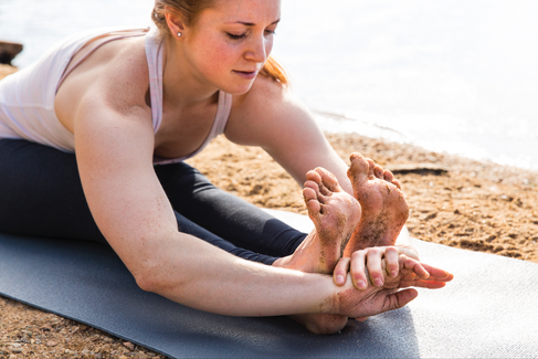 Female Yoga Photography in Maryland