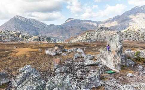 Paul Robinson Climbing in Zimbabwe