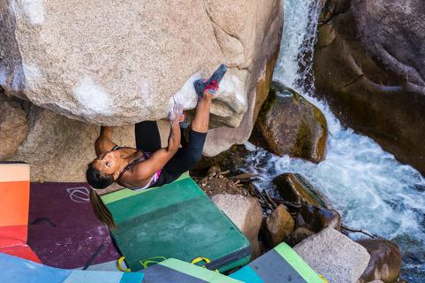 Meagan Martin bouldering