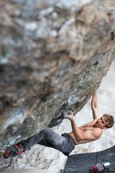 Daniel Woods Climbing in Colorado