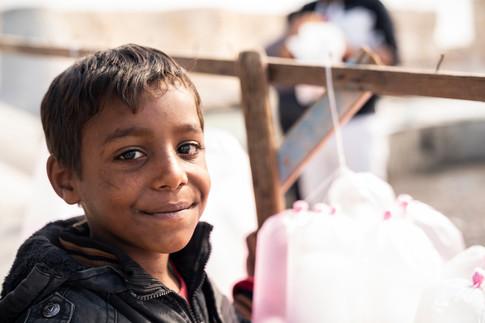 Child of Alexandria, Egypt