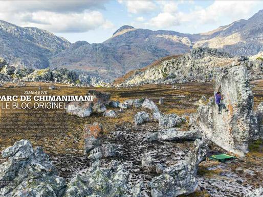 Grimper Magazine publishes my article on Chimanimani National Park, Zimbabwe