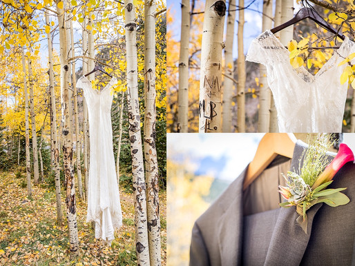 Colorado Fall Styled Wedding Shoot
