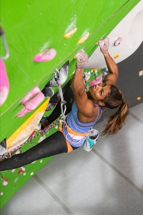Meagan Martin Rope Climbing