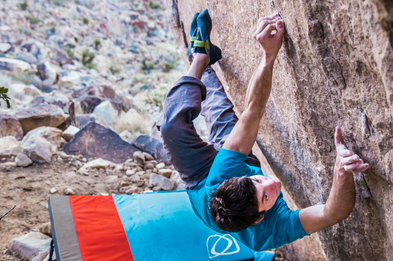 Paul Robinson Climbing in Nevada