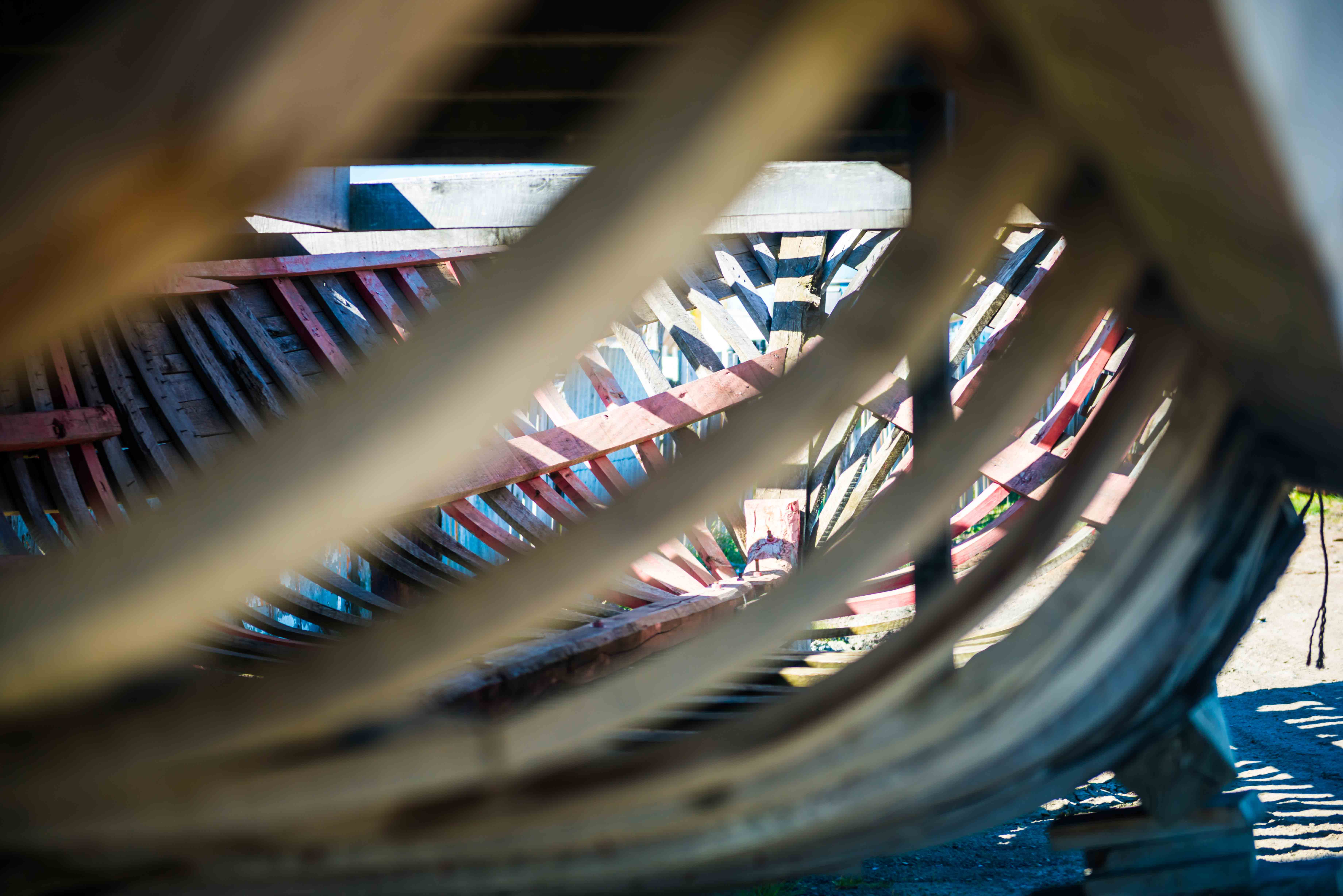 """Cimetière de bateaux """"5"""" - Patagonie"""