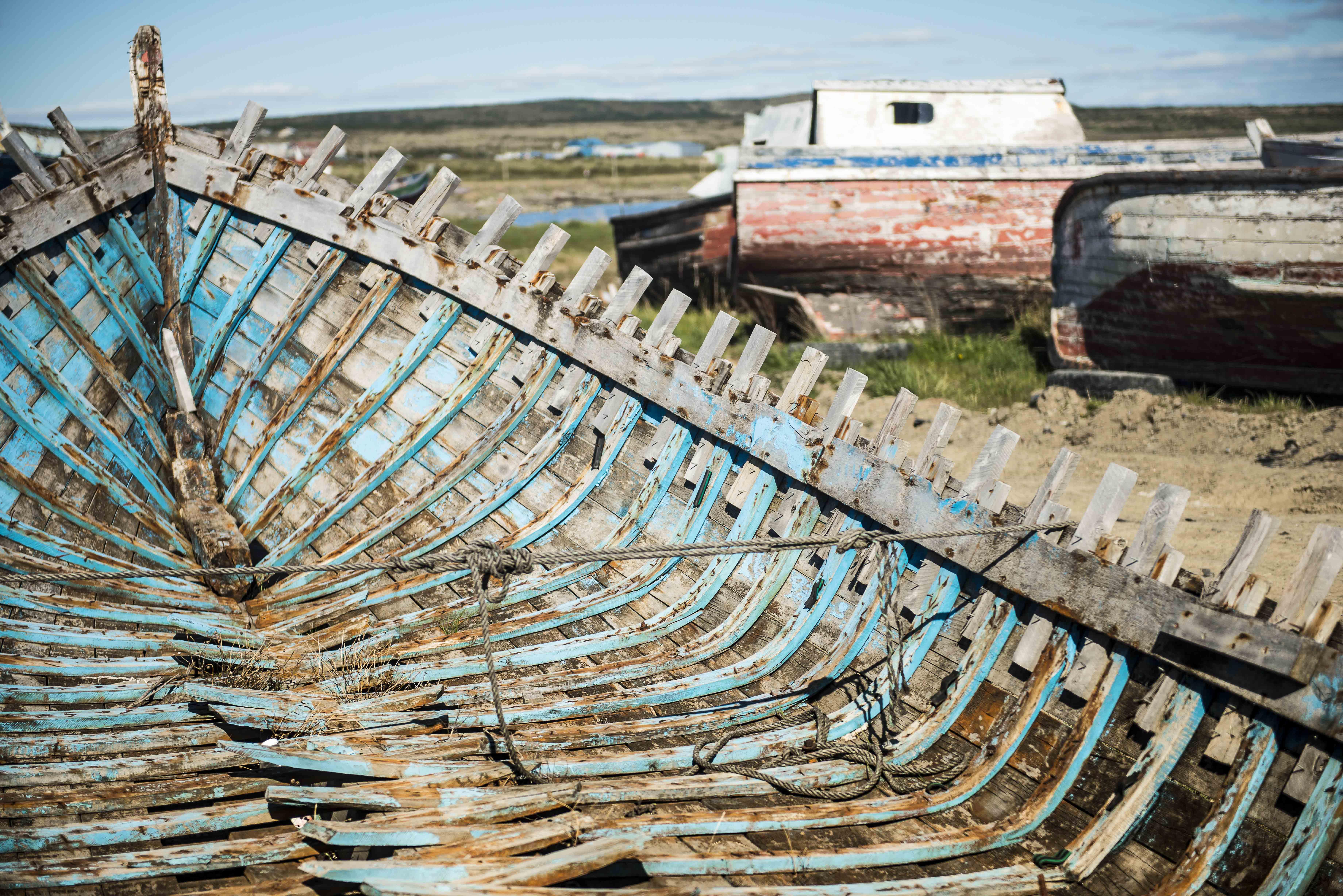 """Cimetière de bateaux """"2"""" - Patagonie"""