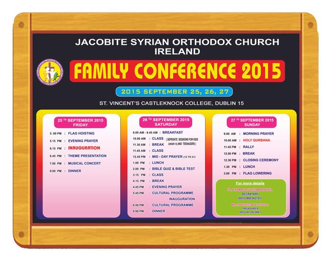 JSOC Family Conference 2015