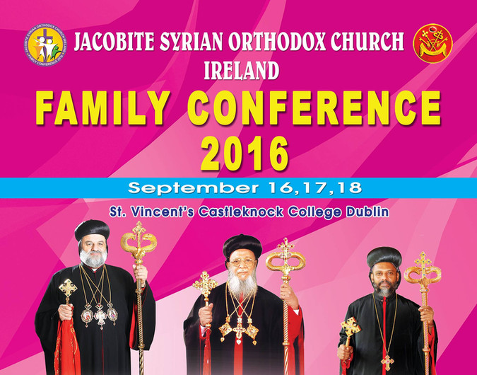 Family Conference 2016 at Castleknock in Dublin