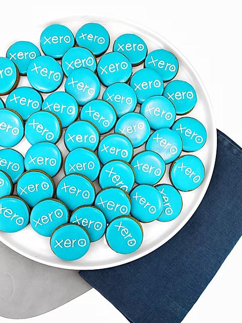 Xero Logo Cookies