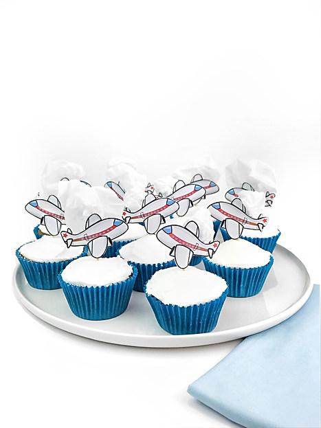 Hendrix 1st Birthday Cupcakes
