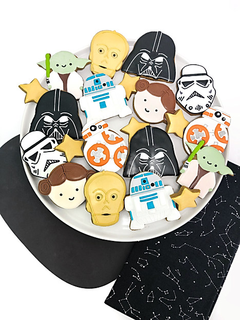 Star Wars Cookie Platter