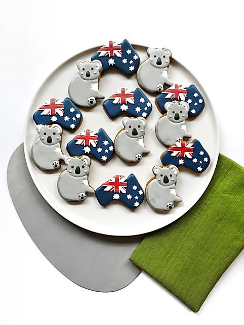 Australia Day Cookies