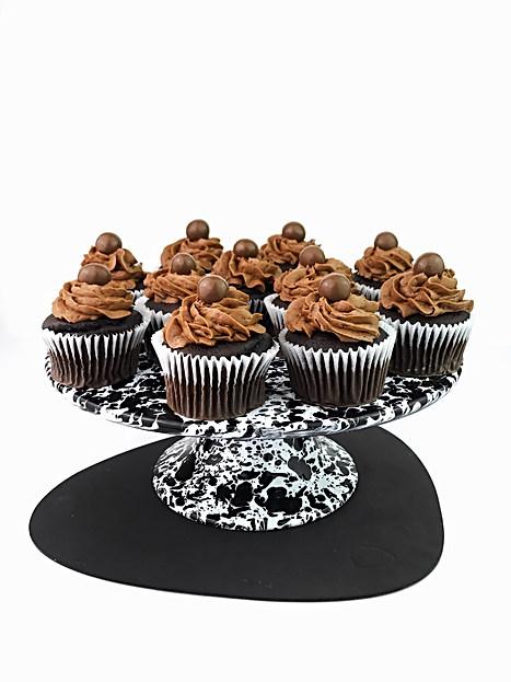 Chocolate Malteser Cupcakes