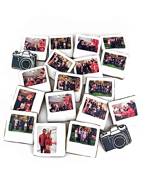 Wedding Polaroid Cookies