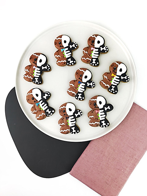 Skeleton X-Ray Gingerbread Man