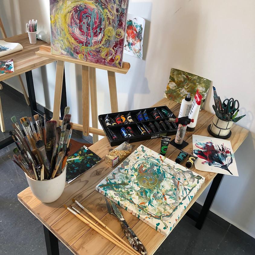 Atelier de peinture perceptuelle