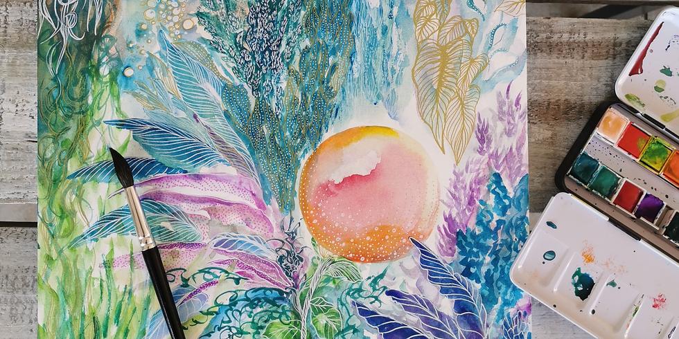 Atelier Aquarelle moderne