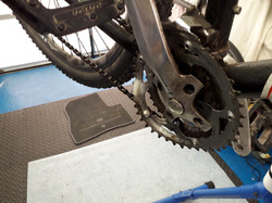 Bit of damage to the chainrings