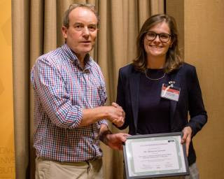 UCL Neuroscience awards Becky the Early Career Research Prize