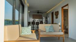 Sala apartamento familiar Camino Palmero Coveñas